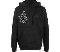Études x Keith Haring Kapuzenpullover
