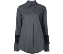 layered cuff detail shirt