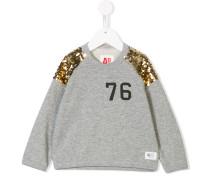 sequinned sweatshirt