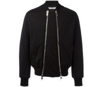 double zip bomber jacket