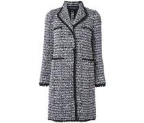 Langer Tweed-Mantel - women