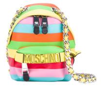 rainbow mini backpack - women - Leder