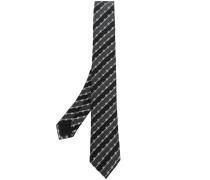 Krawatte mit Stacheldrahtmuster