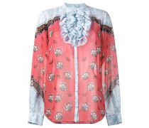 'Ronda' Seidenbluse mit floralem Print