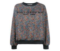Pullover mit Blumen-Print - women - Baumwolle