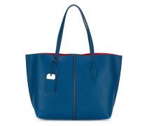 Handtasche mit Logo-Prägung - women - Leder