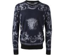 'Lenticular Foulard' jumper