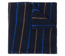 Schmaler Schal mit Streifen