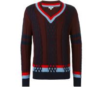 Wollpullover mit Streifen - men - Wolle - S