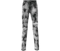 Skinny-Jeans mit Distressed-Optik
