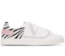 Backnet' Sneakers mit Zebra-Print