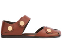 Sandalen mit Nietenverschluss - women