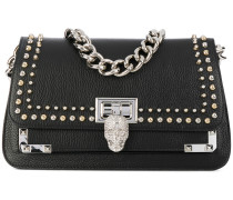 skull chain shoulder bag