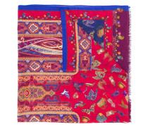 Schal mit verschiedenen Prints