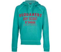 Boy Scout printed hoodie