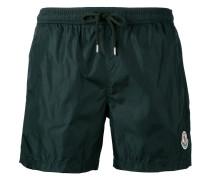 - logo plaque swim shorts - men