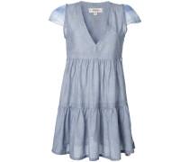 - Kleid mit V-Ausschnitt - women