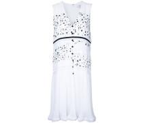 Gepunktetes Kleid mit Knöpfen