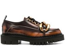 Oxford-Schuhe mit Ketten