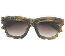- Sonnenbrille mit Farbverlauf - unisex - Acetat