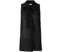Gepunktetes Oberteil - women - Polyester - 10