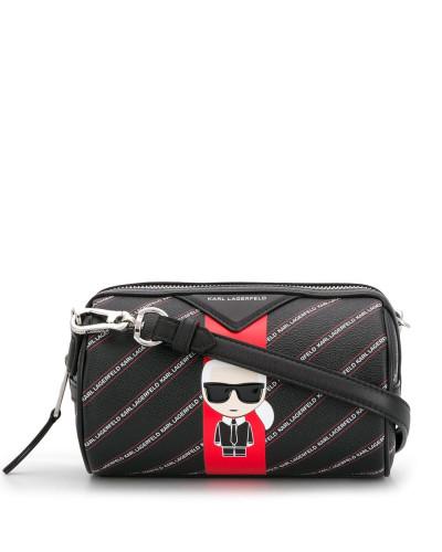 Mini-Tasche mit Streifen