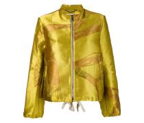 Metallic-Jacke mit Reißverschluss - women