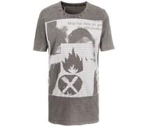 x Massive Attack ausgeblichenes T-Shirt