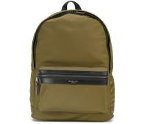zip pocket backpack