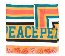 Gestreifter 'Peace' Schal - men