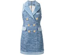 Blazer-Kleid mit ärmellosem Design - women
