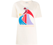 """T-Shirt mit """"Mother and Child""""-Print"""