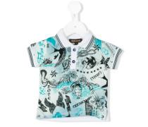 Poloshirt mit Marine-Print - kids