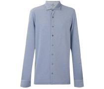 - Hemd mit Knopfleiste - men - Seide/Baumwolle