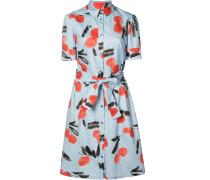 Hemdkleid mit Kirschen-Print - women