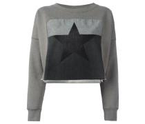 Sweatshirt mit Stern-Patch