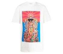 T-Shirt mit Jimi Hendrix-Print