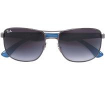 Sonnenbrille mit eckigem Gestell - men