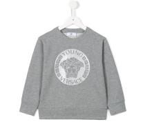 'Medusa' Sweatshirt mit Print