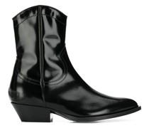 Cowboy-Stiefel aus Lackleder