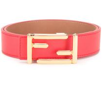 logo branded belt