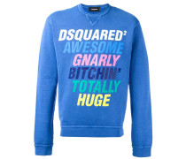 Sweatshirt mit Slogan-Print - men - Baumwolle
