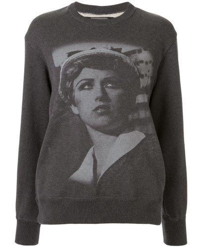'Cindy Sherman' Sweatshirt mit Print