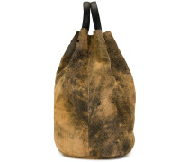 Rucksack mit Distressed-Optik