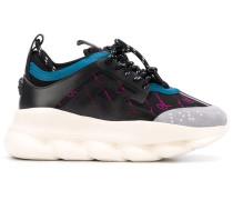 Flatform-Sneakers mit Greca-Motiv