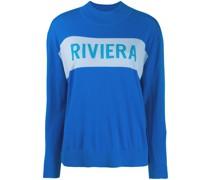 """Pullover mit """"Riviera""""-Schriftzug"""