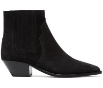 Black Derlyn 40 Suede ankle boots