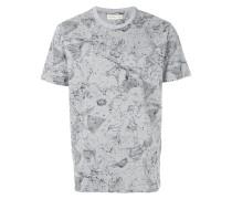 T-Shirt mit Kosmos-Print