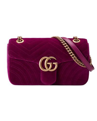 Gucci Damen Schultertasche GG Marmont aus Samt Billig Verkauf Browse Rabatt Wählen Eine Beste Günstig Kaufen Besuch Neu lmiZytbIg2