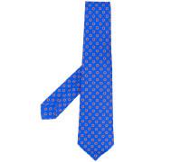 - woven pattern tie - men - Seide - Einheitsgröße